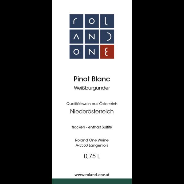 Roland One Pinot Blanc