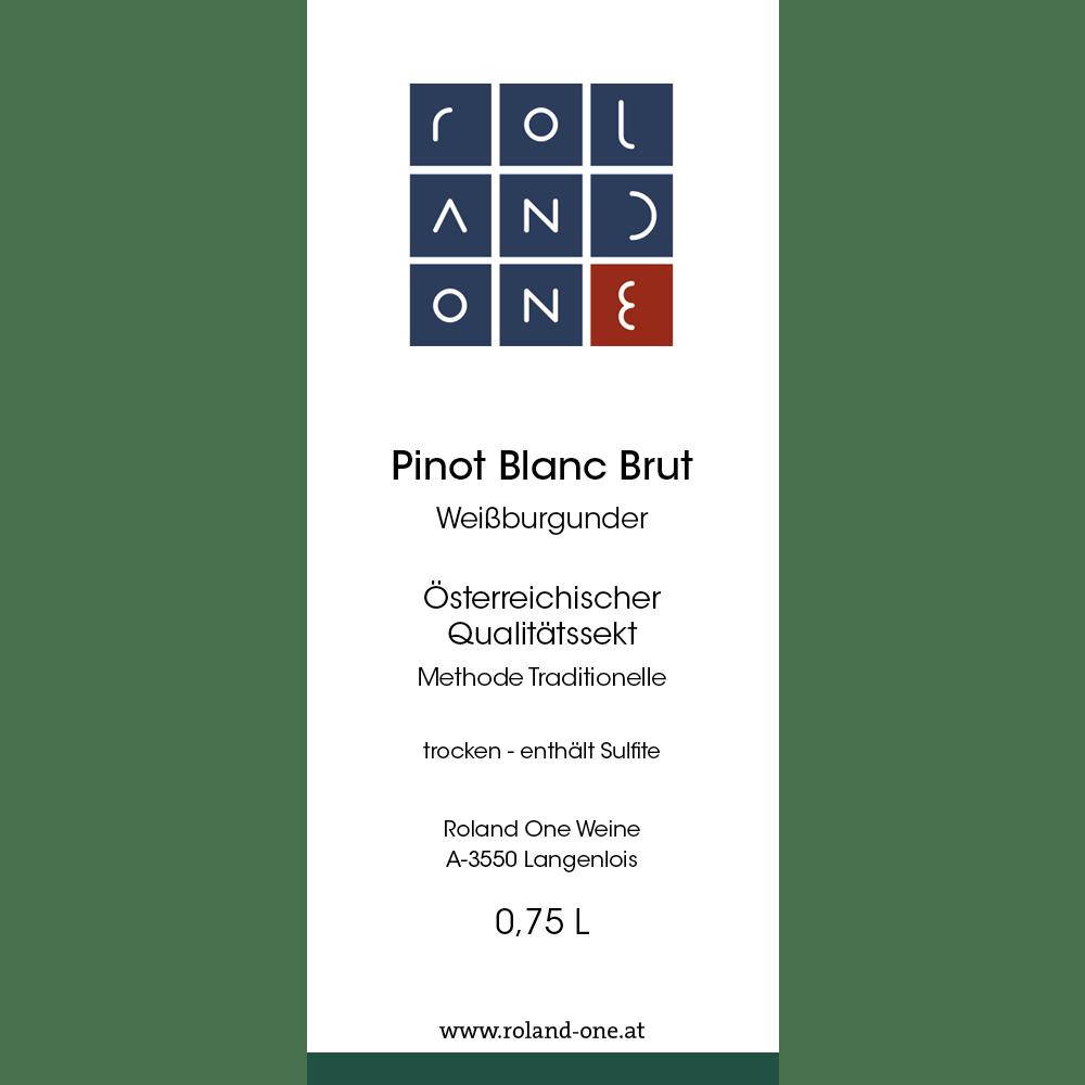 Roland One Pinot Blanc Brut